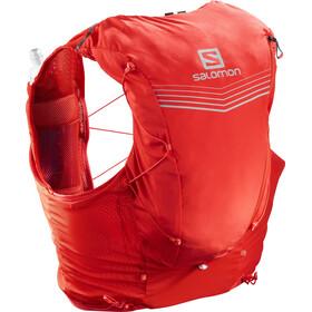 Salomon Adv Skin 12 Backpack Set Fiery red